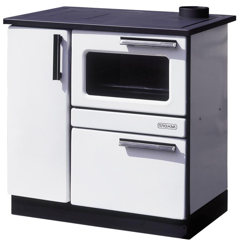 Stalowa kuchnia węglowa Plamak o mocy 15kW PIEC KOMINEK   -> Kuchnia Weglowa Z Weżownicą Używana
